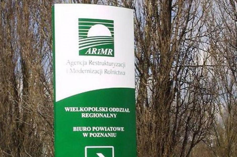 ARiMR: z końcem roku kończą się nabory trzech działań z PROW