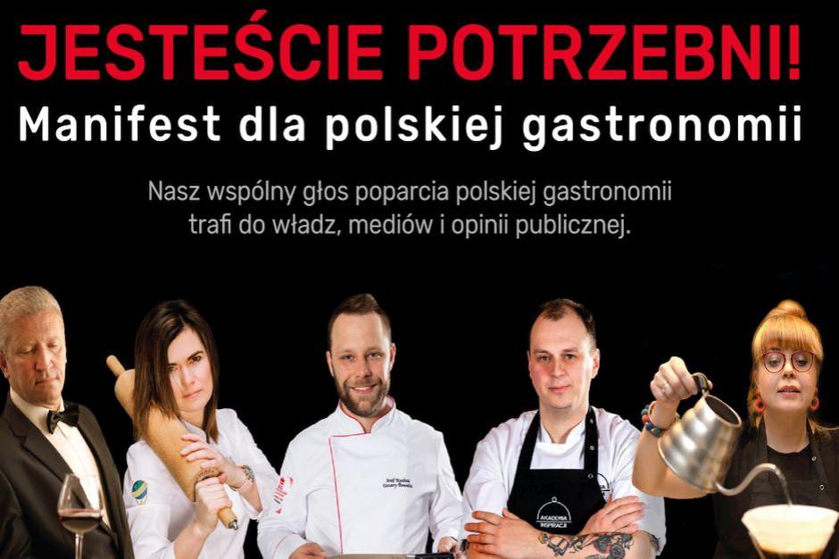 """""""Manifest dla polskiej gastronomii"""" głosem wsparcia dla branży"""