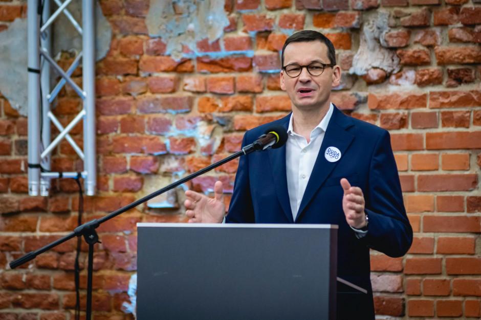 Morawiecki: Jesteśmy gotowi na wypłaty rekompensat dla najbardziej dotkniętych przez obostrzenia branż