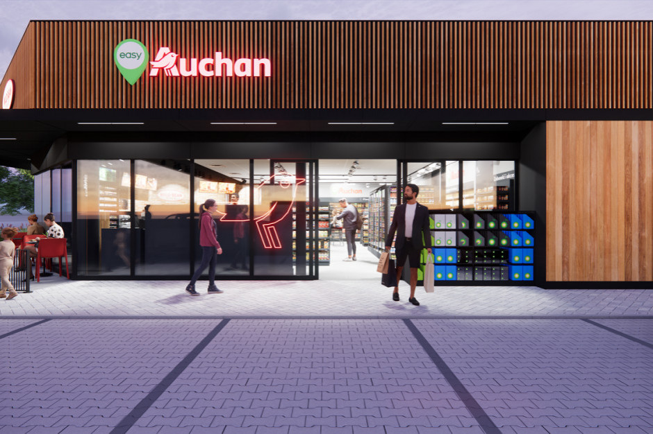 Auchan: już 3 sklepy na stacjach BP