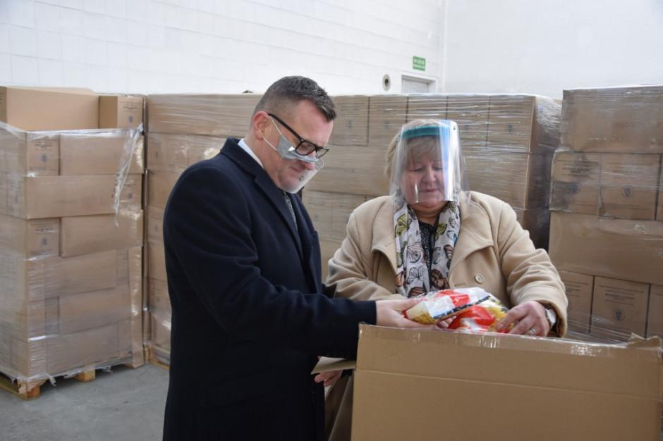 KOWR: ruszyła akcja dostarczania żywności w programie Pomoc Żywnościowa