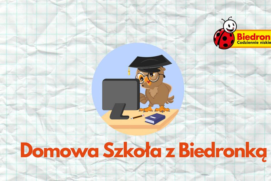 Biedronka ufundowała 2000 pracowników nowe komputery do nauki dla dzieci