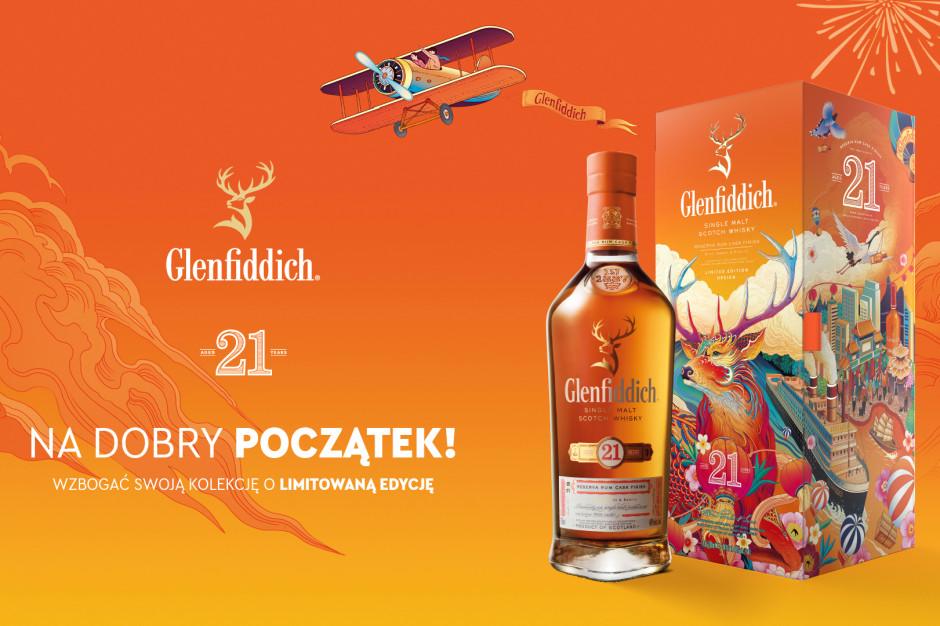 Glenfiddich wprowadza do sprzedaży limitowaną edycję 21-letniej whisky