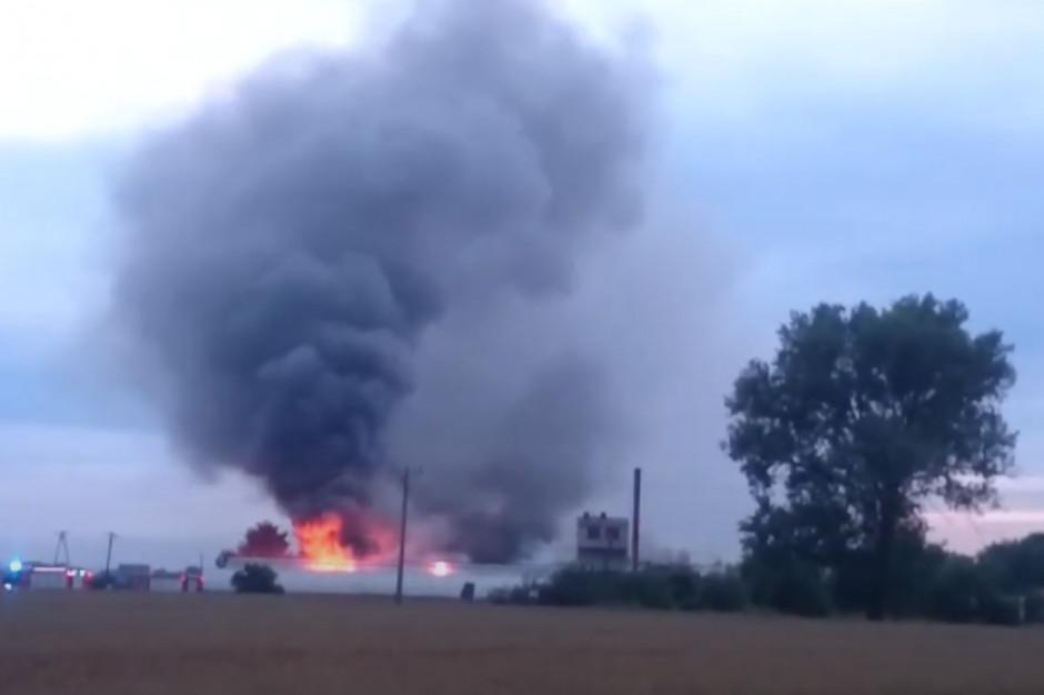 Leszno: Dwie osoby podejrzane ws. podpalenia zakładu spożywczego