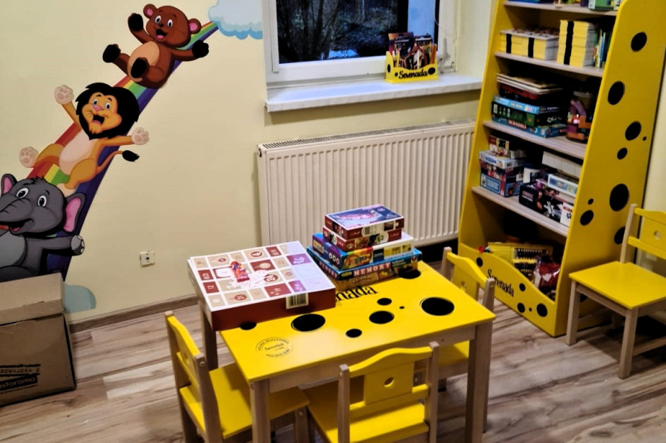 Spomlek urządził serenadowy kącik zabaw w Śląskim Centrum Chorób Serca