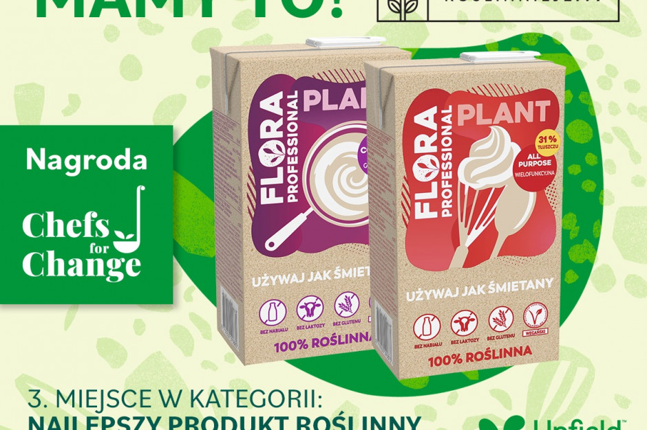 Flora Plant nagrodzona w plebiscycie RoślinnieJemy