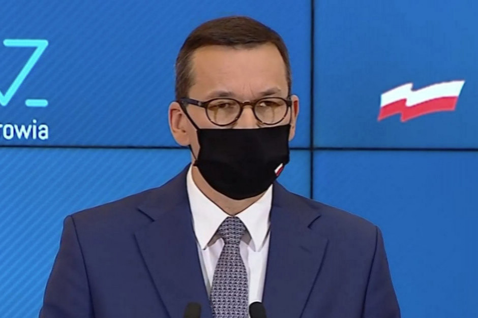 Morawiecki: nie możemy wykluczyć, że echa trzeciej fali pandemii dotrą do Polski