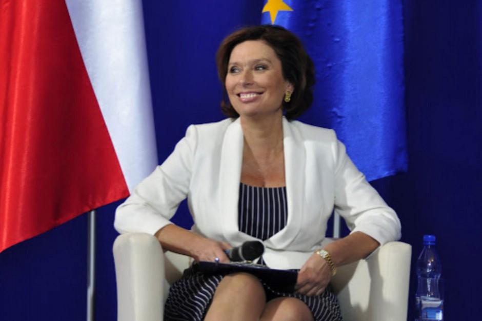 Kidawa-Błońska: ma nadzieję, że Gowin nie dopuści do wprowadzenia podatku od reklam