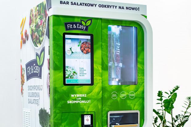 Green Factory testuje vendingowy bar sałatkowy
