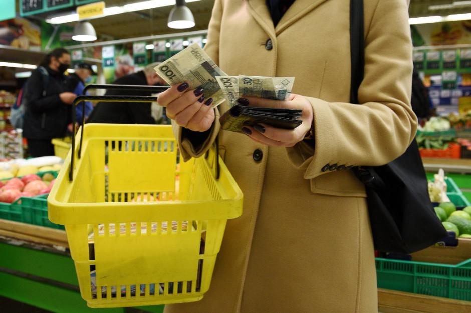 Silny wzrost inflacji w styczniu efektem wyższych cen żywności