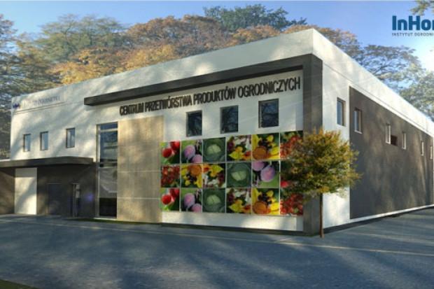 W Skierniewicach powstaje nowoczesne Centrum Przetwórstwa Produktów Ogrodniczych