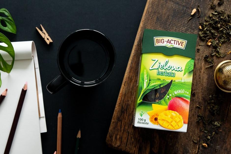 Big-Active poszerza portfolio o liściastą Herbatę Zieloną z Mango