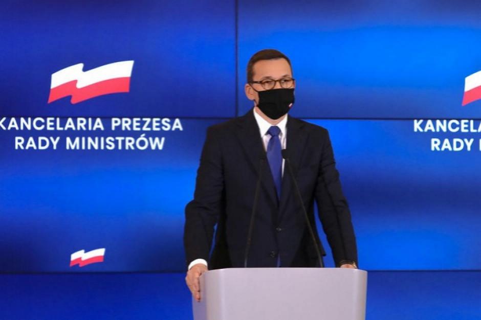 Premier: Musimy ostrożnie podchodzić do działań związanych z pandemią