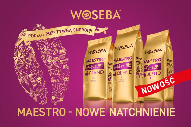 Woseba wprowadza na rynek nową linię kaw - Maestro