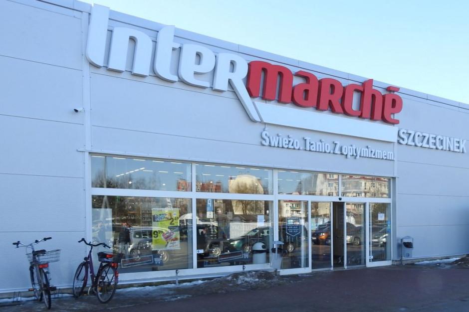 Remodeling Intermarché w Szczecinku