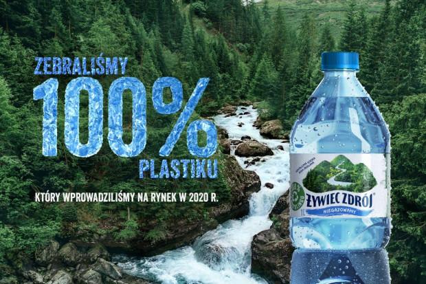 Żywiec Zdrój: kampania celebrująca zbiórkę 100% plastiku
