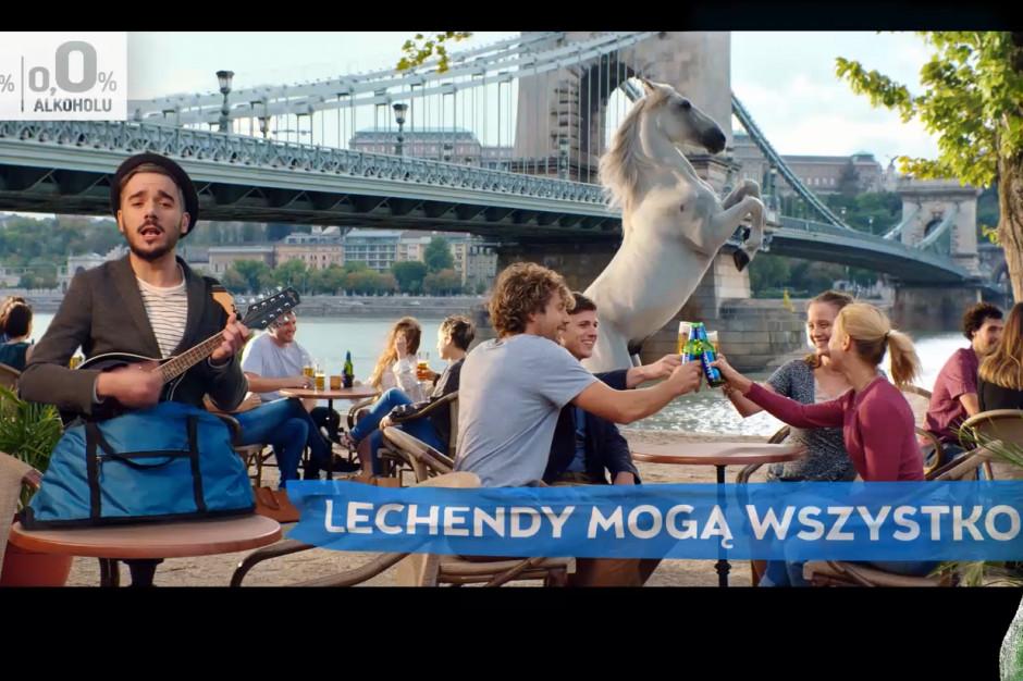 """Lech Free 0,0% startuje z nową kampanią """"Lechendy mogą wszystko"""""""