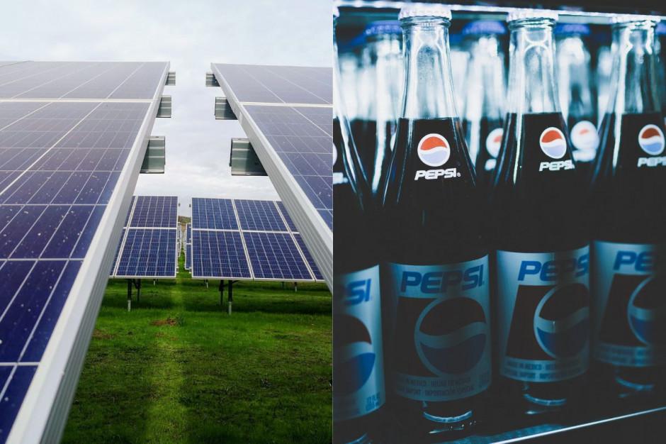 PepsiCo stawia na energię ze słońca