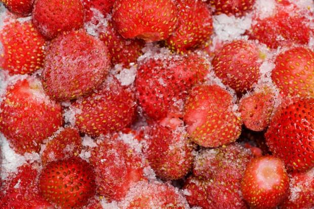 Mrożone truskawki z Polski mają coraz więcej konkurentów