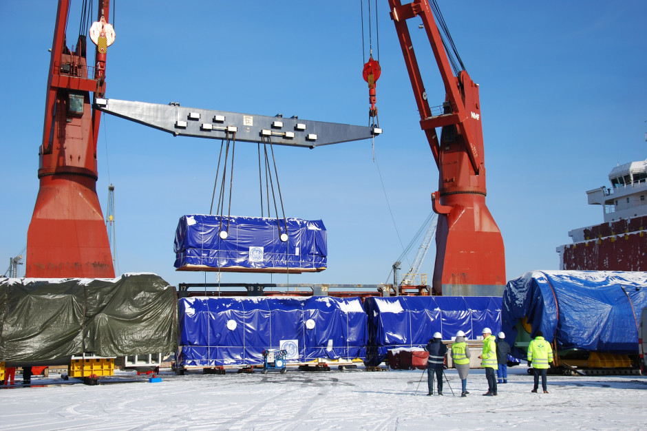 Jedna z największych dostaw morskich Grupy Fracht