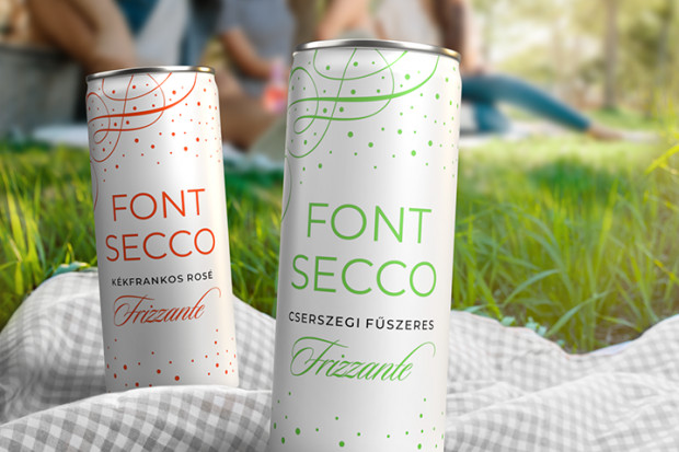 Font Pincészet razem z Canpack wprowadza na rynek węgierski wino w puszkach