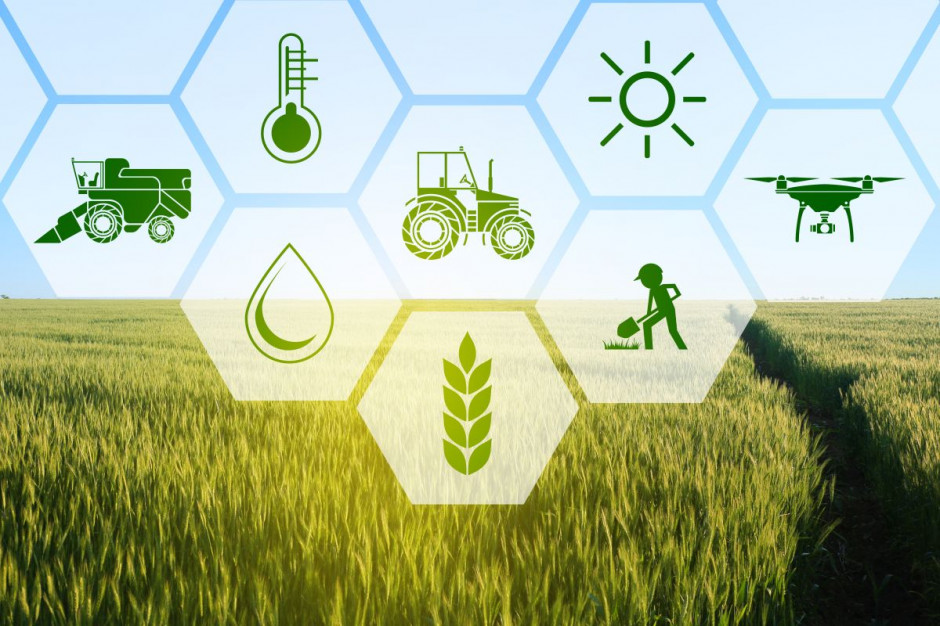 Zrównoważone rolnictwo w parze z technologią cyfrową