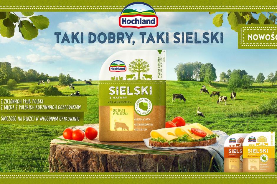 Nowy brand serów Hochland w innowacyjnym opakowaniu