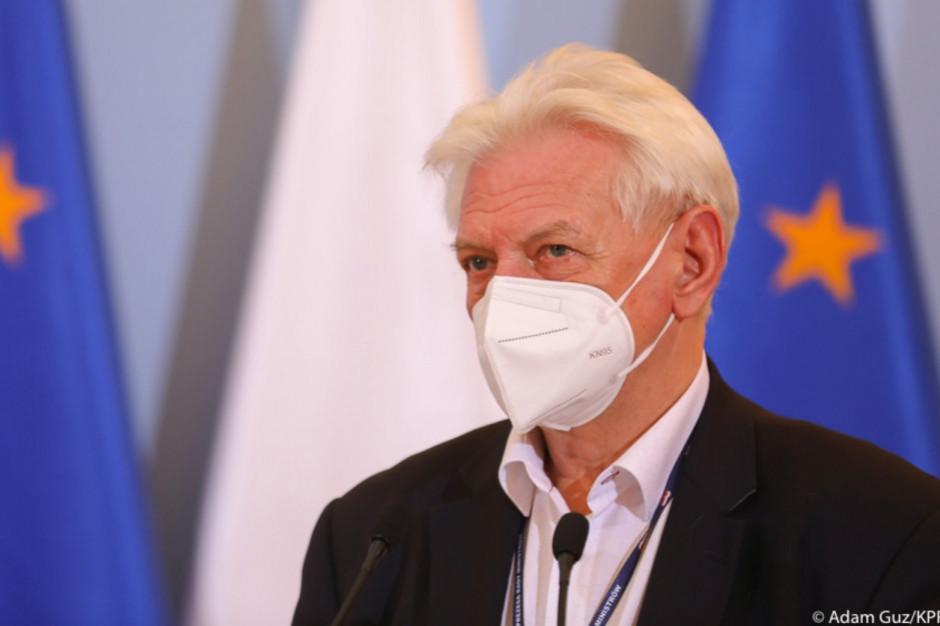 Prof. Horban: rozważamy całkowite zamknięcie Polski