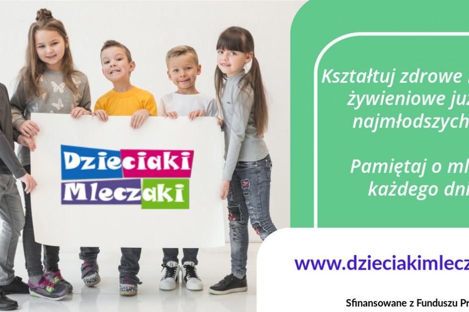 Kolejna edycja projektu Dzieciaki Mleczaki