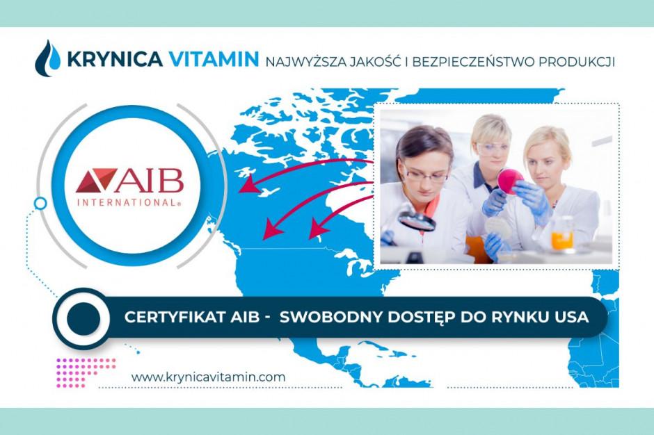 Krynica Vitamin: certyfikaty jakości otwierają nowe rynki zbytu