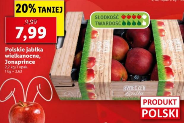 Lidl: polskie jabłka wielkanocne - co to takiego?
