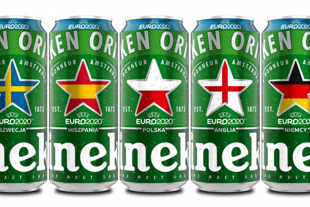 Heineken uczci zbliżające się UEFA EURO 2020 limitowaną wersją piw