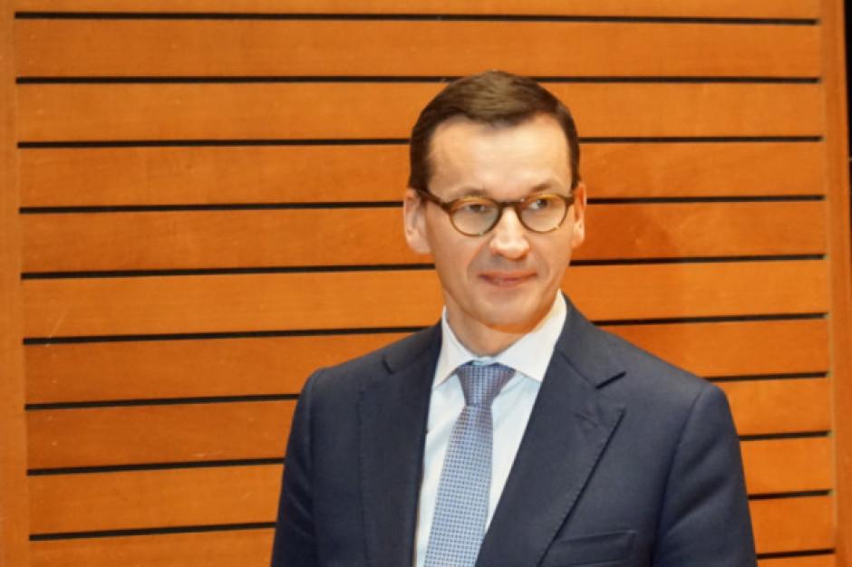 Morawiecki: Dla najemców w galeriach główny problem to czynsz