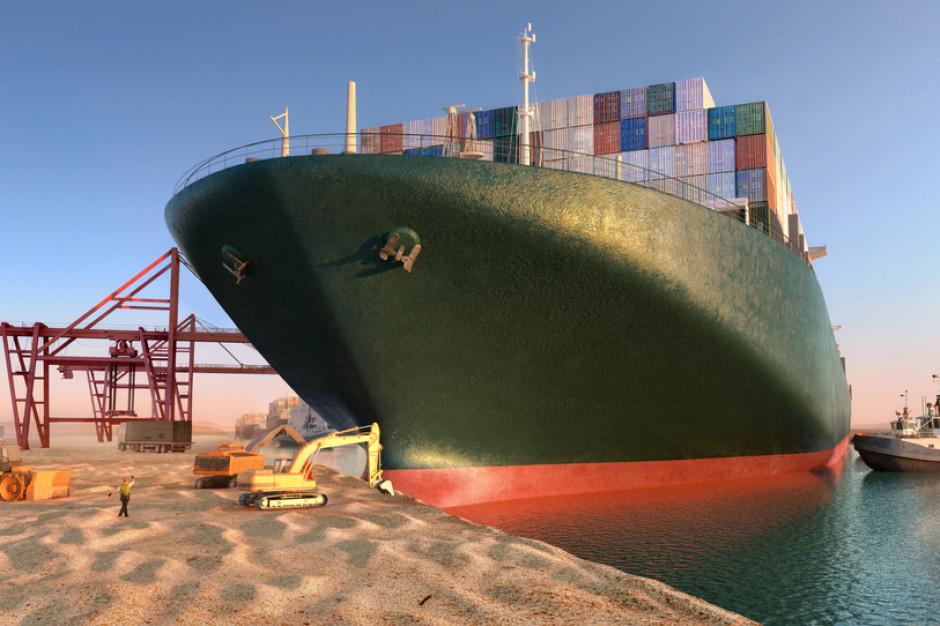 Egipt blokuje odpłynięcie kontenerowca Ever Given