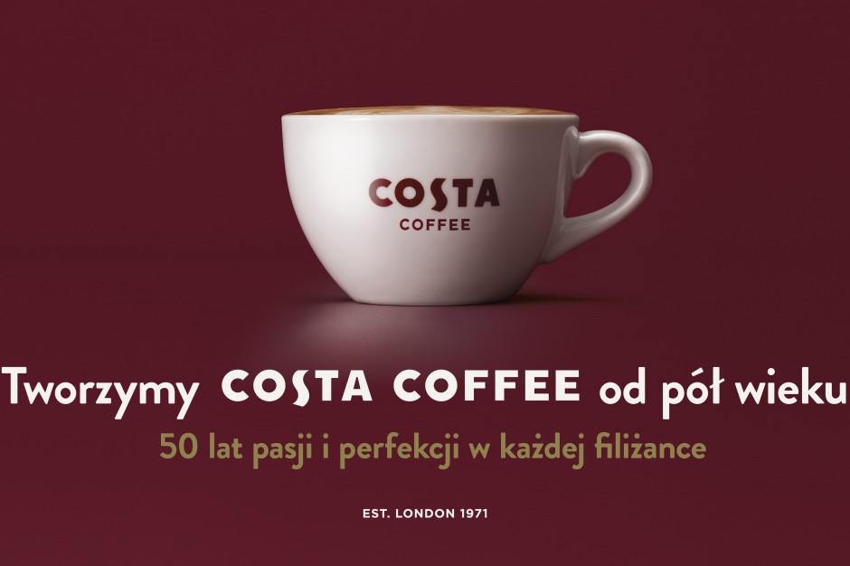 Costa Coffee z jubileuszową kampanią z okazji 50-lecia