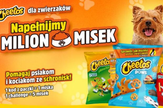 Marka Cheetos angażuje się w pomoc zwierzętom
