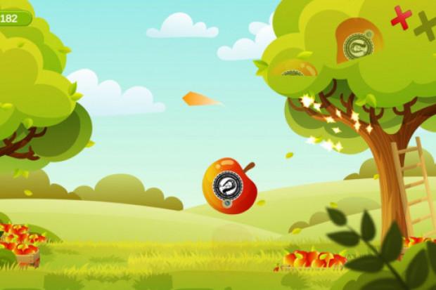 """Gra """"Ninja z sadu ma zachęcić dzieci do jedzenia jabłek"""