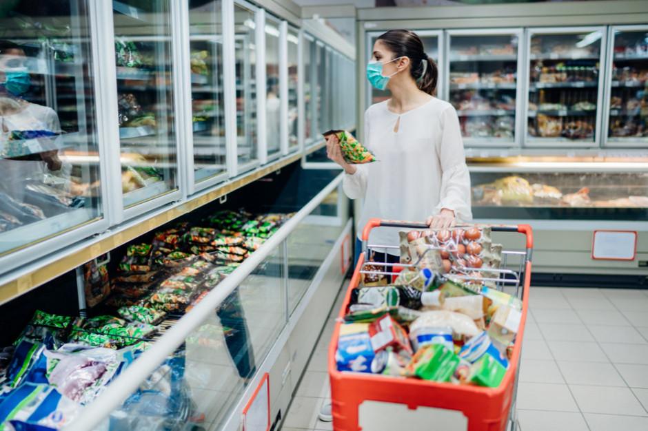 Pandemia spowodowała wzrost obrotów rynku spożywczego