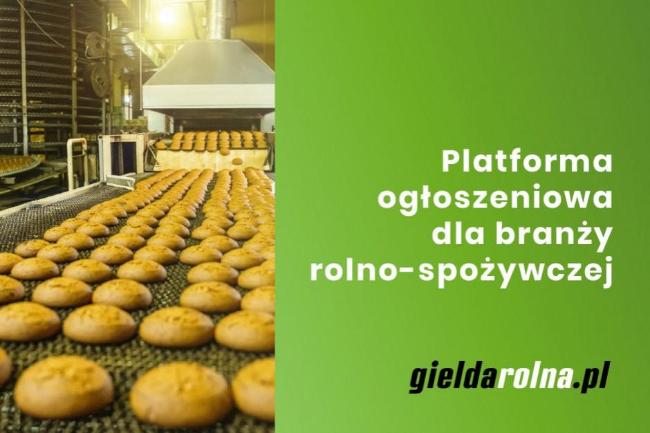 Gieldarolna.pl: Środki do produkcji i maszyny dla przemysłu rolno-spożywczego