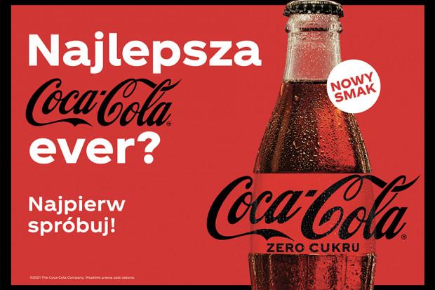 Coca-Cola z nową identyfikację wizualną opakowań napoju