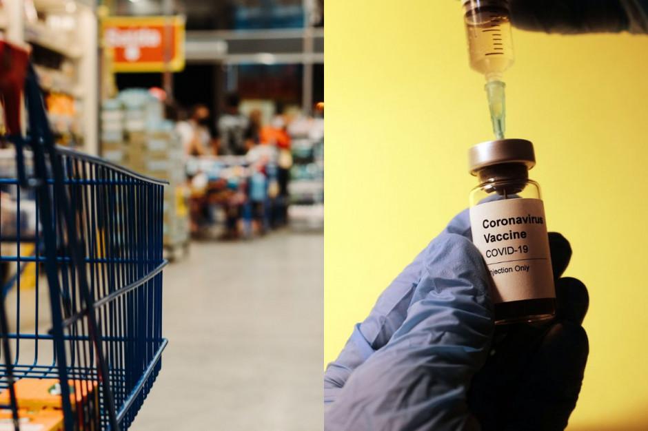 Sieci handlowe premiują zaszczepionych pracowników
