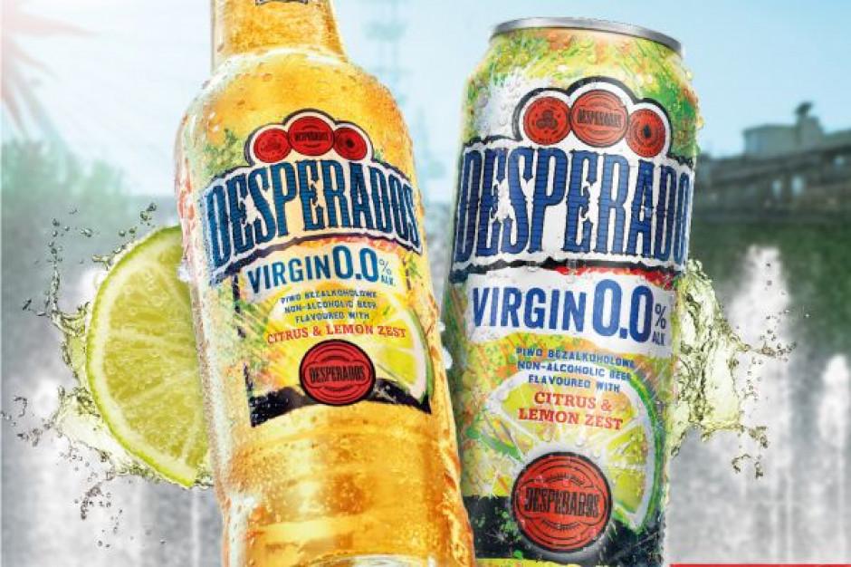 Desperados Virgin 0,0% w nowej reklamie telewizyjnej