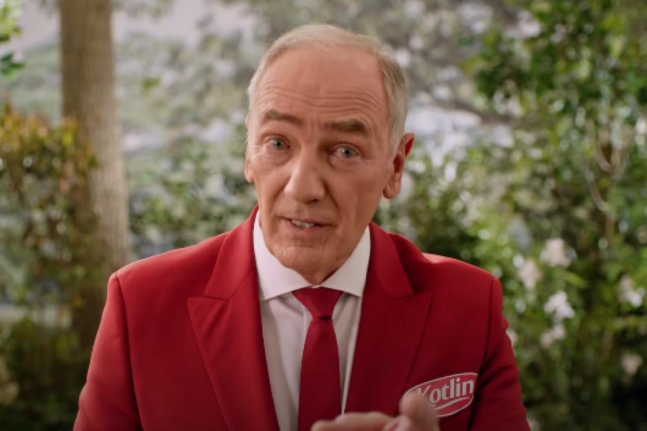 Karol Strasburger reklamuje keczupy Kotlin (wideo)