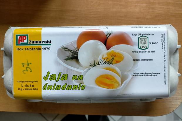 Salmonella w jajach Gospodarstwa Rolno-Hodowlanego Zamarski