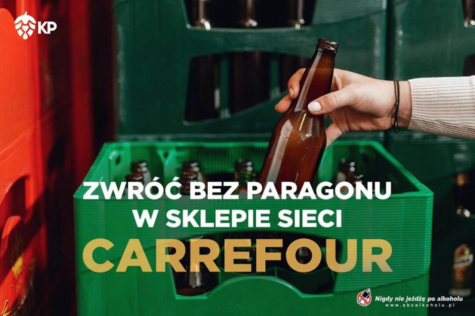 Kompania Piwowarska i Carrefour Polska wspólnie przy