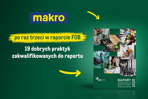"""Makro Polska wyróżnione w raporcie """"Odpowiedzialny biznes w Polsce"""""""