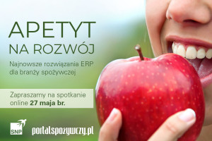 Apetyt na rozwój. Najnowsze rozwiązania ERP dla branży spożywczej