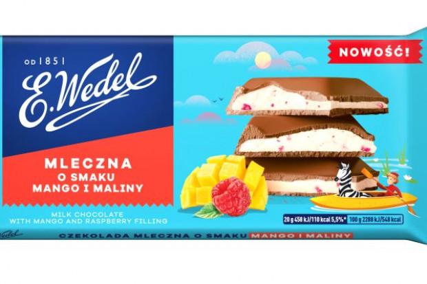 Nowe czekolady w ofercie E.Wedel