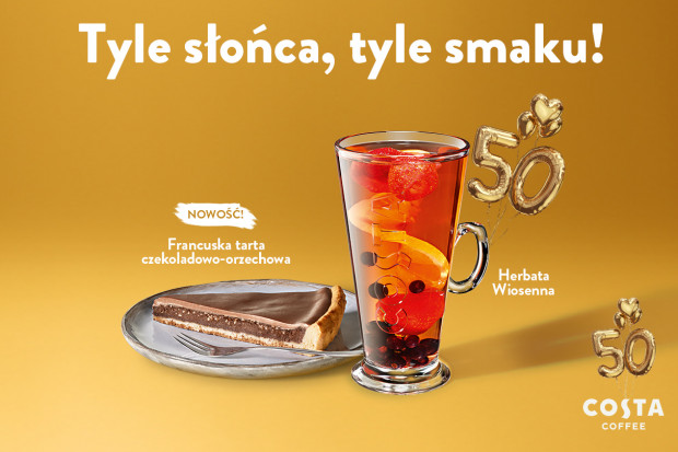 Wiosenne nowości w Costa Coffee