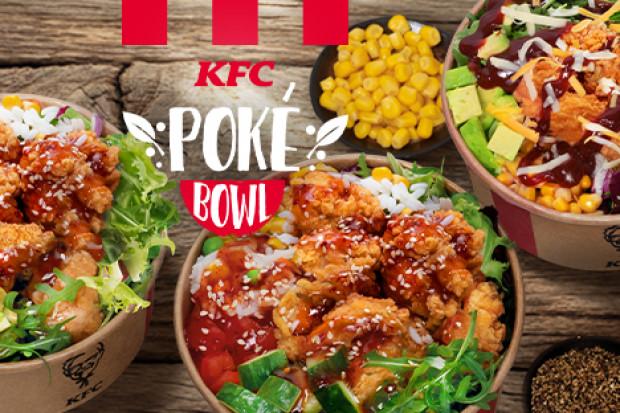 KFC Poke Bowl - sieć chce dotrzeć do foodies
